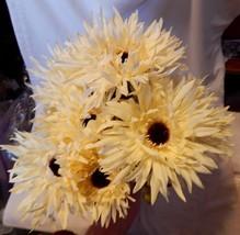 "Ashland Fall Bushes Decor Picks Stems Fillers White Flowers 2ea 16"" x 7""... - $5.89"