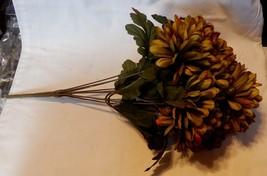 "Ashland Fall Bushes Decor Picks Stems Fillers Flowers 1ea 16"" x 7"" Mater... - $5.91"