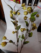 "Fall Christmas Decor Picks Stems Flowering Branches 2ea 29"" Tall  x 6"" W... - $14.84"