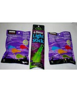 "Halloween Glowing Party Favors 6"" Green Light Stick Creatology 9 items total 42F - $7.89"