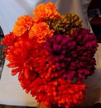 "Ashland Multicolor Fall Bushes Decor Picks Stems Fillers Flowers 5ea 12""... - $7.89"