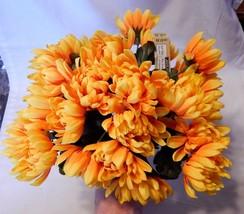"Ashland Fall Bushes Decor Picks Stems Fillers Flowers 8ea 12"" x 7"" Mater... - $7.89"