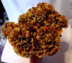 "Ashland Fall Bushes Decor Picks Stems Fillers Flowers 4ea 12"" x 7"" Mater... - $7.89"