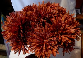 "Ashland Fall Bushes Decor Picks Stems Fillers Flowers 3ea 16"" x 7"" Mater... - $7.86"