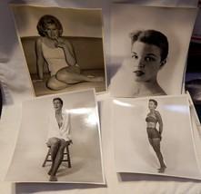 B&W Vintage 8 x 10 Prints 4ea 1950's Glamour Gi... - $9.89