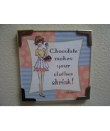 Linda Grayson gift magnet Chocolate new - $4.00