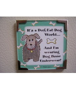 Linda Grayson gift magnet Dog new - $4.00