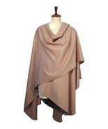 Cape made with Babyalpaca wool, shawl or wrap  - $295.00