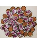 Soda pop bottle caps Lot of 100 GRAPE CRUSH cork lined unused new old stock - $39.99
