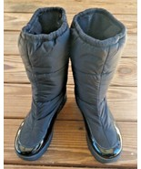 Cole Haan Air Size 7.5 B Waterproof Black Snow Boots Shoes D25584 All We... - $56.52