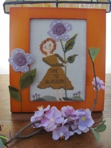 Time To Blossom cross stitch chart By The Bay Needleart  - $9.00