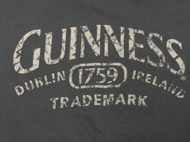 Guinness Dublin Ireland Trademark Mens T-Shirt 2XL Green - $14.97