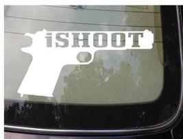 "ISHOOT 45 ACP 1911 STICKER 8"" SHOOT 2A ASSAULT LIFE TARGET MOLON LABE 2A... - $3.99"