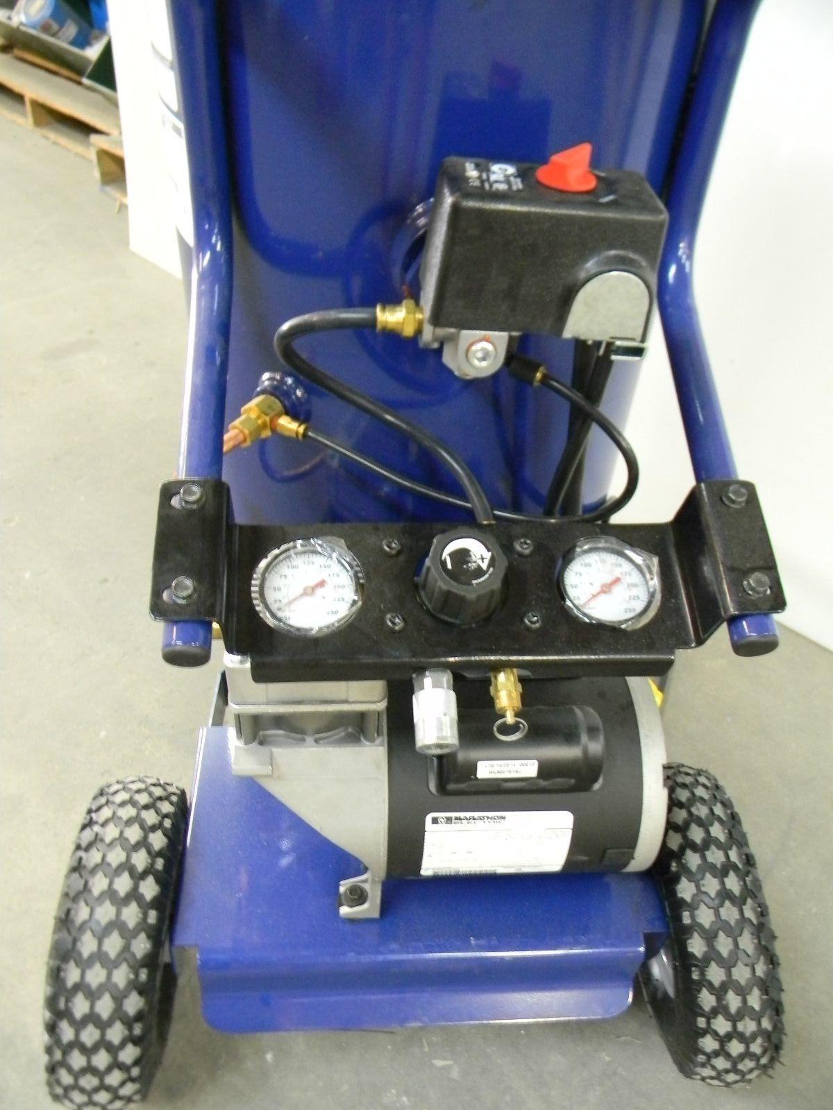 Vintage Campbell Hausfeld Air Compressor : Campbell hausfeld wl gal portable v electric air