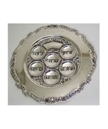 Judaica Silver Plated Passover Seder Plate - $21.41