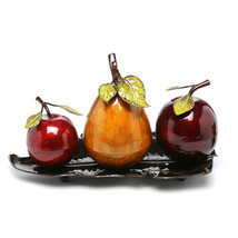 Fruit Centerpiece Dining Table Kitchen Room Tabletop Decor Counter Art S... - $53.99