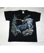 Stand Out Designs Sz Large Eagle Black Tee Shirt - $10.99