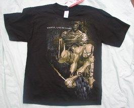 Marvel Wolverine Black Tee Shirt Size 12-14 NWT - $12.99