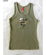 Army Girl Size XL Olive Khaki Tank Top  Okoboji, Iowa NWT - $14.99