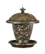 Perky Pet Bird Feeder Holly Berry Gilded Chalet Wild Garden Victual Bait... - $16.98