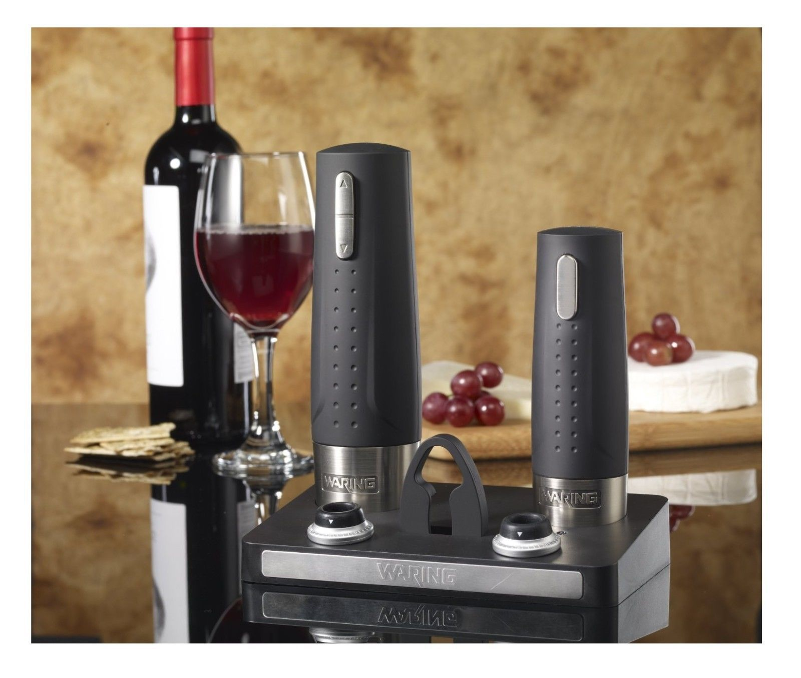 Pro wine bottle opener bar home kitchen tools charge base for How to preserve wine after opening