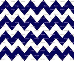 "8"" Round Cake - Navy Blue Chevron Background Birthday - Edible Cake or C... - $10.39 CAD"