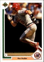 1991 Upper Deck Rex Hudler #482 St. Louis Cardinals (MT) Baseball Card - $0.10