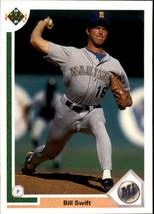 1991 Upper Deck Bill Swift #498 Seattle Mariners (MT) Baseball Card - $0.10