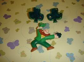 Hallmark Vintage St. Patrick's Day Pin & Shamrock Earrings - $13.49