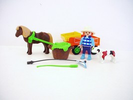 Playmobil 3118 Farmer Pony Cart  - $14.99