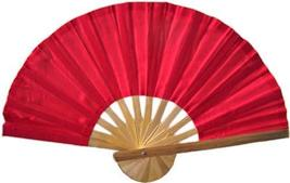 Red Bamboo Hand Fan Asian Hand Fans - $1.95