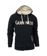 Guinness Blck & Tan Full Zip Hooded Sweatshirt - $54.99
