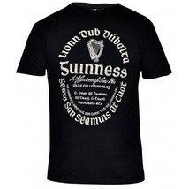 Guinness Stout Distressed Celtic Label Beer T S... - $22.99