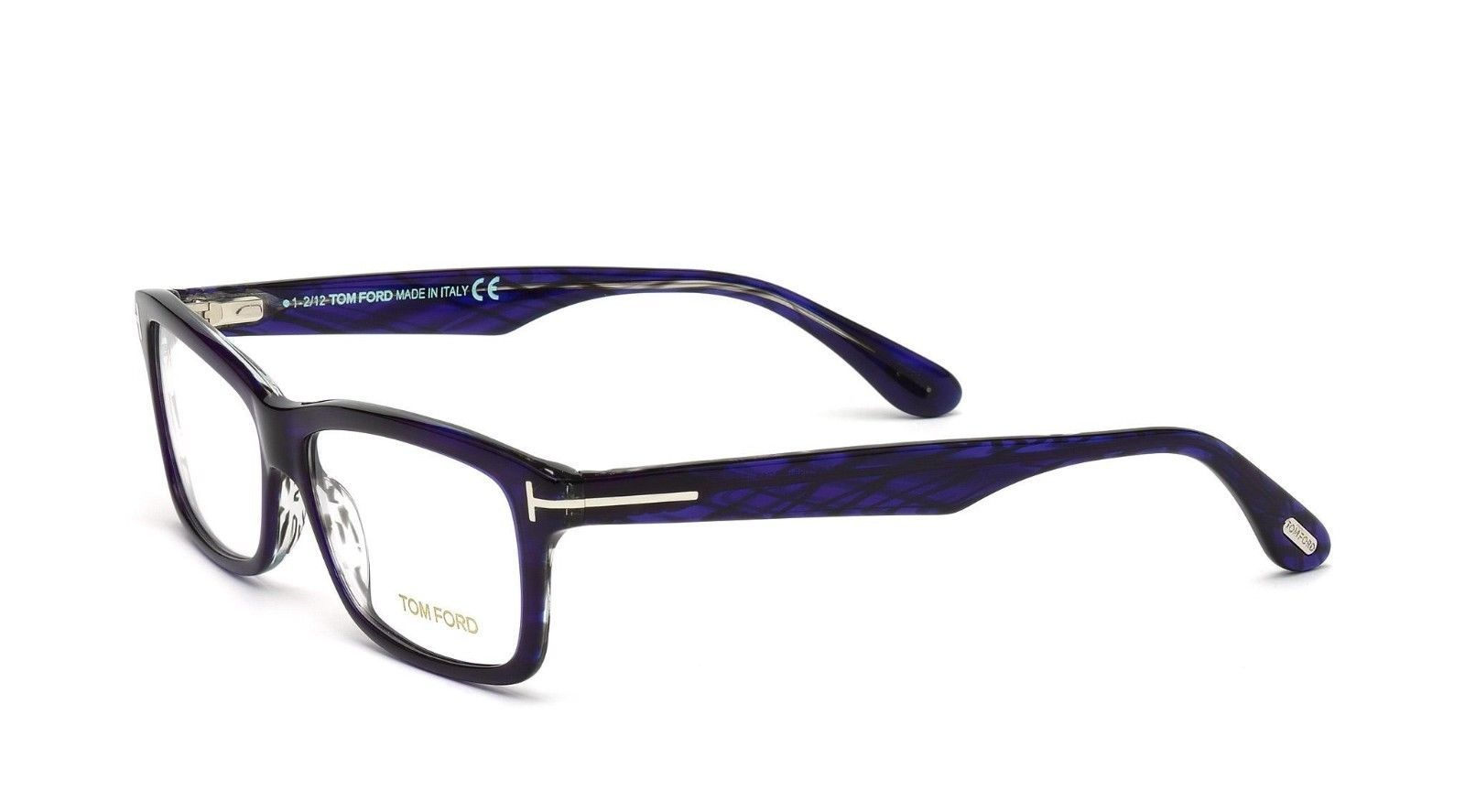 Frame Glasses Made In Italy : Tom Ford FT 5146 083 Violet Acetate Full-frame Eyeglasses ...