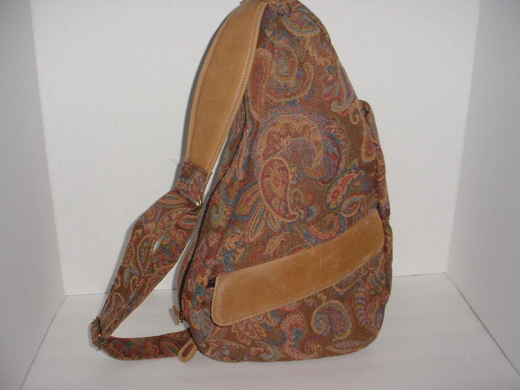L L Bean Ameribag Healthy Back Bag Tapestry Bag Great