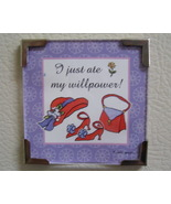 Linda Grayson gift magnet Red Hat lady new - $4.00