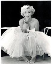 Marilyn Monroe Sit Vintage 11X14 BW Movie Memorabilia Photo - $13.95