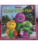 Barney the Purple Dinosaur - Barney Goes to the Fair Book  - $1.50