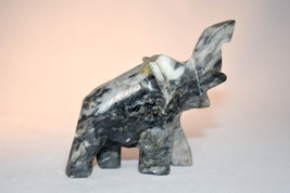 Elephant Figure - Carved Elephant - Item 20171017 - 3 X 2 Inches in size - $19.39