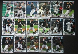 2019 Bowman Paper & Chrome Chicago White Sox Team Set 17 Baseball Cards - $13.99