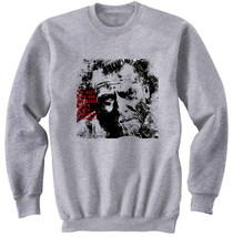 Charles Bukowski 2   New Cotton Grey Sweatshirt  S M L Xl Xxl - $29.46