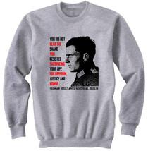 Claus von Stauffenberg - NEW COTTON GREY SWEATSHIRT- S-M-L-XL-XXL - $47.50