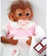 Collectible Ashton Drake Galleries Poseable Lifelike Baby Monkey Doll  Coco - $103.00