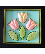 Avon Spring Tulips Hostess Soaps 6  Vintage Gue... - $8.99
