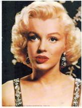Marilyn Monroe AG Vintage 8X10 Color Movie Memorabilia Photo - $4.99
