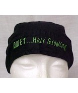 Cancer Chemo Head Cover Durag Black Olive Quiet Hair Growing 100% Cotton... - $15.65