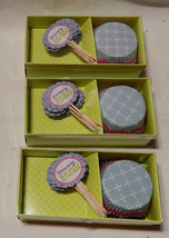 Michaels Cupcake Sets Yummy Cupcake Papers & Picks 3 Sets 39 Cups & Pick... - $5.89