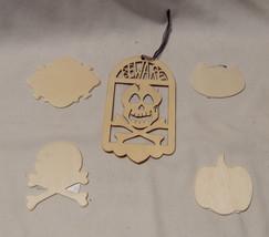 "Halloween Art Minds Simple Shapes Cat Skull & Cross Bones Pumpkin 2"" x 2... - $149,90 MXN"