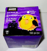 Halloween Owl Foam Mosaic Kit 193pc By Creatology 6+ 43R - $5.93
