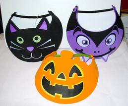 Halloween Foam Visor Hat by Creatology 3+Vampire Pumpkin Cat 3ea 41J - $7.91